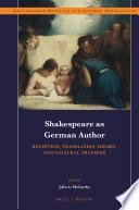 Shakespeare as German Author