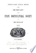 Report of the Michigan State Pomological Society