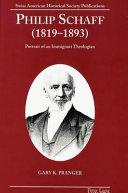 Philip Schaff  1819 1893