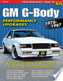 GM G Body Performance Projects 1978 1987