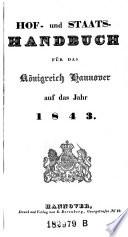 Hof- und Staats-Handbuch für das Königreich Hannover