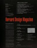 Harvard Design Magazine