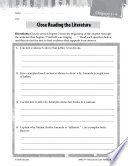 Maniac Magee Close Reading and Text Dependent Questions