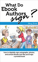 What Do Ebook Authors Sign