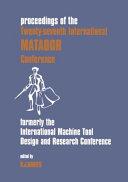 Proceedings of the     International MATADOR Conference
