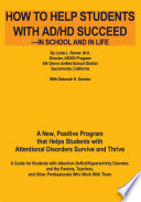 how to help students with ad hd succeed in school and in life
