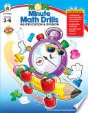More Minute Math Drills Grades 3 6 book
