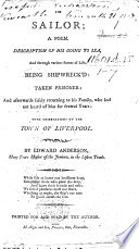 Poems. A description of a shepherd; his going to sea ... With observations on the town of Liverpool, coming in from sea. Description of his remarkable escape from shipwreck in the October gale, 1789, when one hundred sail of shipping were cast away near Yarmouth roads, etc