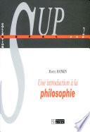 illustration du livre Une introduction à la philosophie