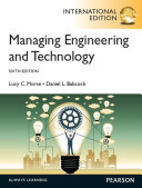 Managing Engineering and Technology  International Edition