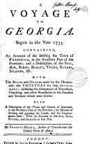 A Voyage to Georgia
