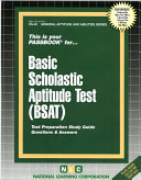 Basic Scholastic Aptitude Test  BSAT