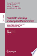 Parallel Processing and Applied Mathematics  Part I