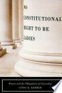 No Constitutional Right to Be Ladies