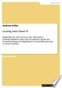 Leasing unter Basel II