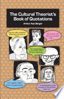 The Cultural Theorist s Book of Quotations