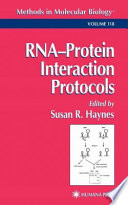 RNA Protein Interaction Protocols