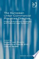 The European Unfair Commercial Practices Directive