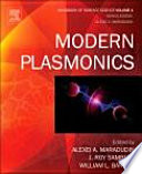 Modern Plasmonics : a stand alone subject, or as part of...
