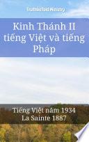 Kinh Thánh II tiếng Việt và tiếng Pháp