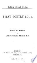 First  Second  poetry book  selected and arranged by C  Geikie