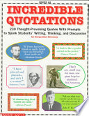 Incredible Quotations