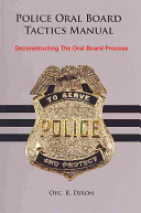 Police Oral Board Tactics Manual