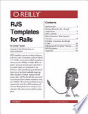 RJS Templates for Rails
