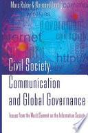 Civil Society Communication And Global Governance