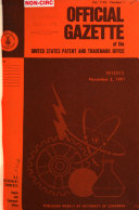 Official Gazette of the United States Patent and Trademark Office Vol 1132 No 1