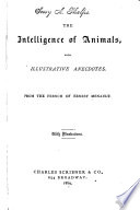 The Intelligence of Animals
