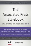 Book The Associated Press Stylebook 2017