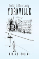 download ebook one day as i stood lonely: yorkville pdf epub