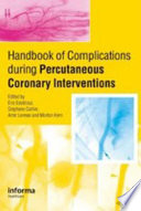 Handbook of Complications during Percutaneous Cardiovascular Interventions