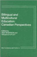 Bilingual and Multicultural Education