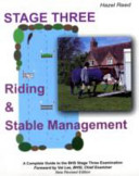 Riding and Stable Management - Stage 3