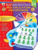 Mastering Math Facts  Grades 3   5
