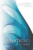 Variations book