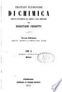 Trattato elementare di chimica applicata specialmente alla medicina e alla agricoltura