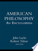 American Philosophy  An Encyclopedia