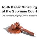 Book Ruth Bader Ginsburg at the Supreme Court