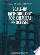 Scale up Methodology for Chemical Processes