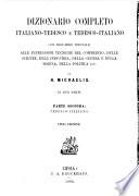 Dizionario completo italiano tedesco e tedesco italiano
