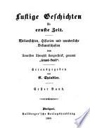 C. Spindler's werke: Je länger, je lieber