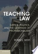 Teaching Law