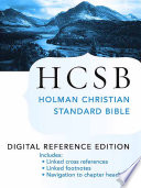 The Holy Bible  HCSB Digital Reference Edition