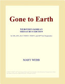 Gone to Earth  Webster s Korean Thesaurus Edition
