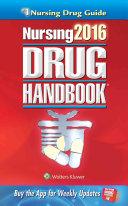Nursing 2016 Drug Handbook