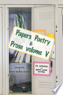 Papers Poetry Prose Volume V