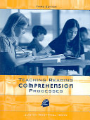 Teaching Reading Comprehension Processes